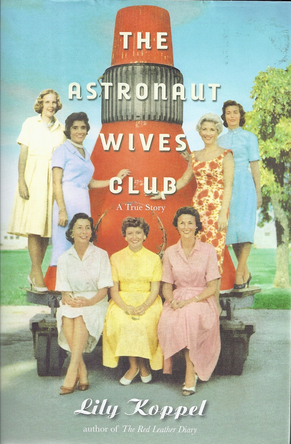 Astronauts Wives Gather Around the Original Capsule